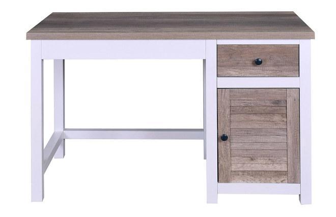 Scrivania In Legno Bianco : Scrivania con spazi per riporre i propri oggetti in legno bianco