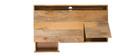 Scrivania design industriale legno di mango YPSTER