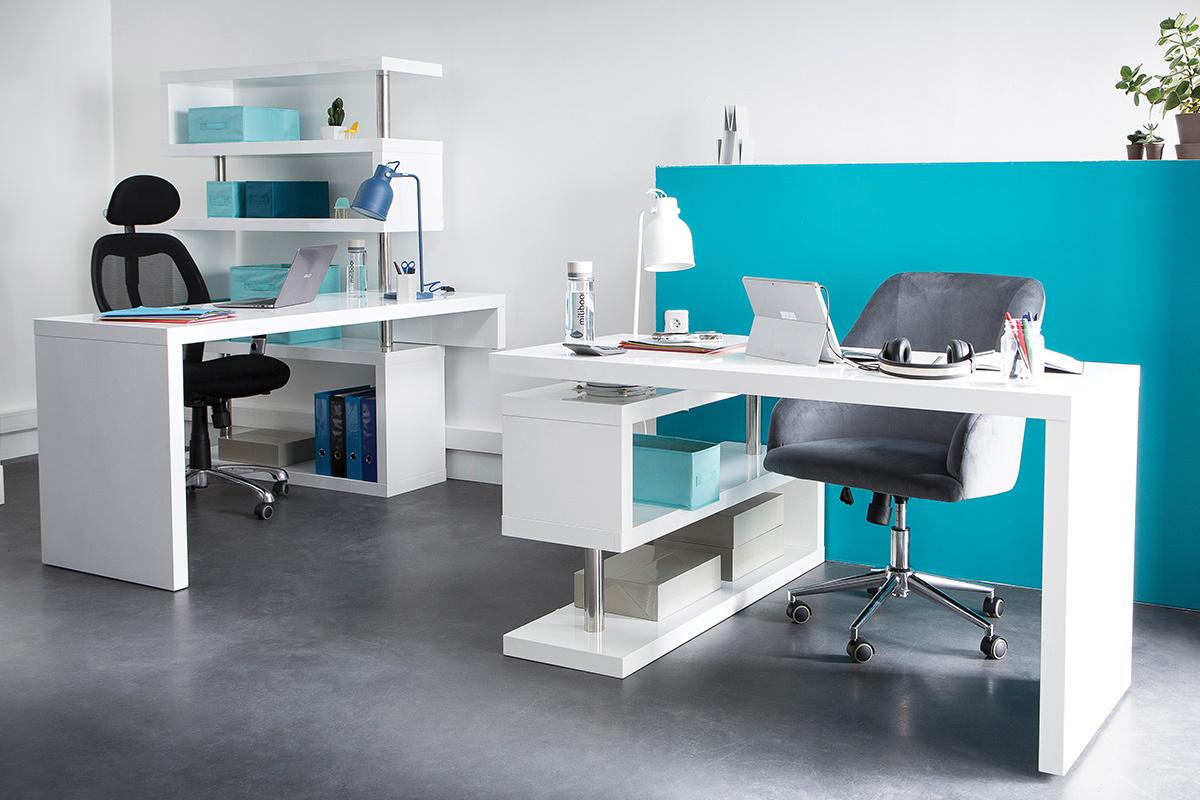 Scrivania Design Laccata Bianca Max.98 Scrivania Design Scrivania Design Classico Scrivania