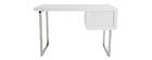 Scrivania design laccata bianca ROXI