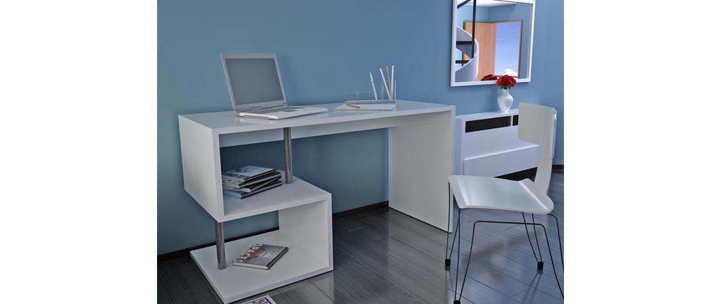 Scrivania design MAXIME laccata bianca ( Il prodotto non è più ...