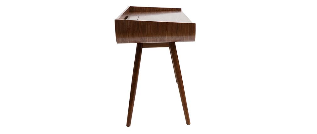 Scrivania vintage in legno noce HALLEN