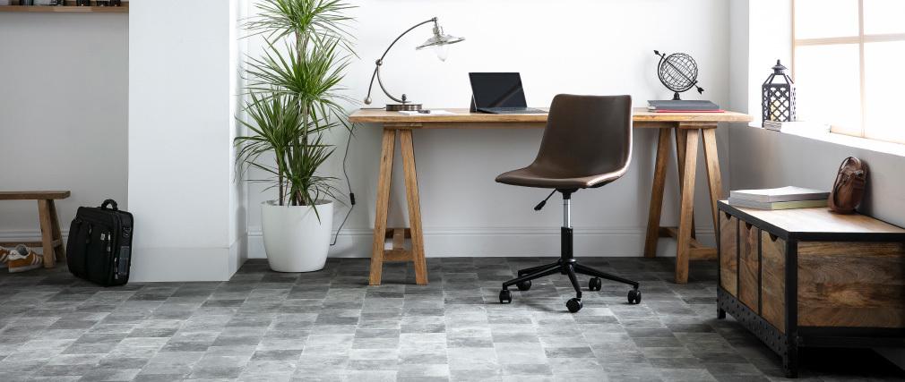 Sedi da ufficio vintage marrone NEW ROCK