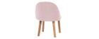 Sedia bambino design rosa BABY CELESTE