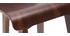 Sedia da bar legno scuro 65 cm BALTIK