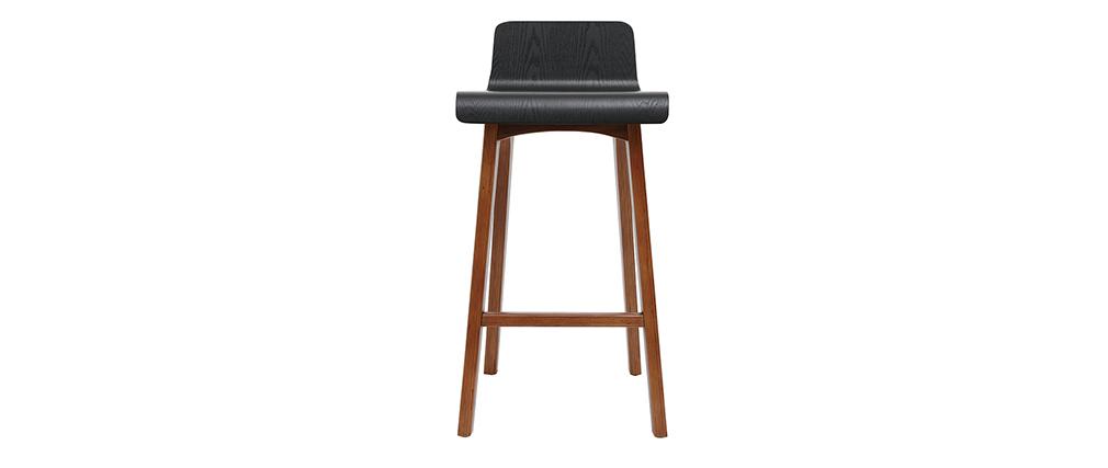 Sedia da bar nera 65 cm BALTIK