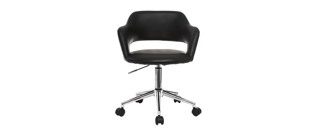 Sedia da ufficio design nero JESSY