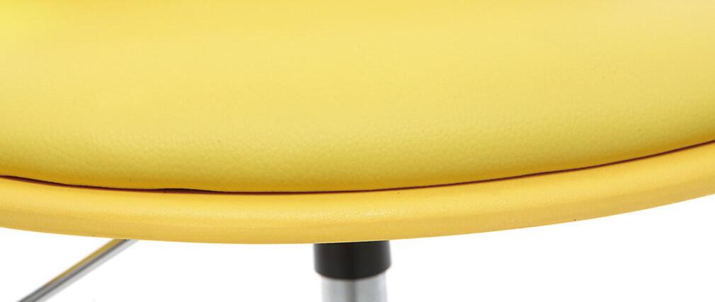 Sedia da ufficio design per bambino giallo STEEVY