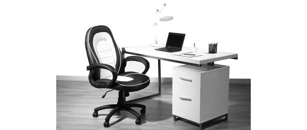 Sedia da ufficio design pietro miliboo for Design sedia ufficio