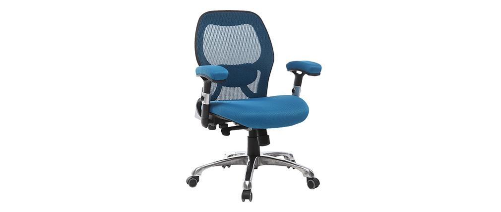 Sedia da ufficio ergonomica Blu ULTIMATE V2