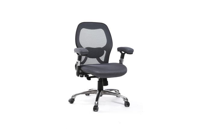 Sedia da ufficio ergonomica grigio ultimate v2 miliboo