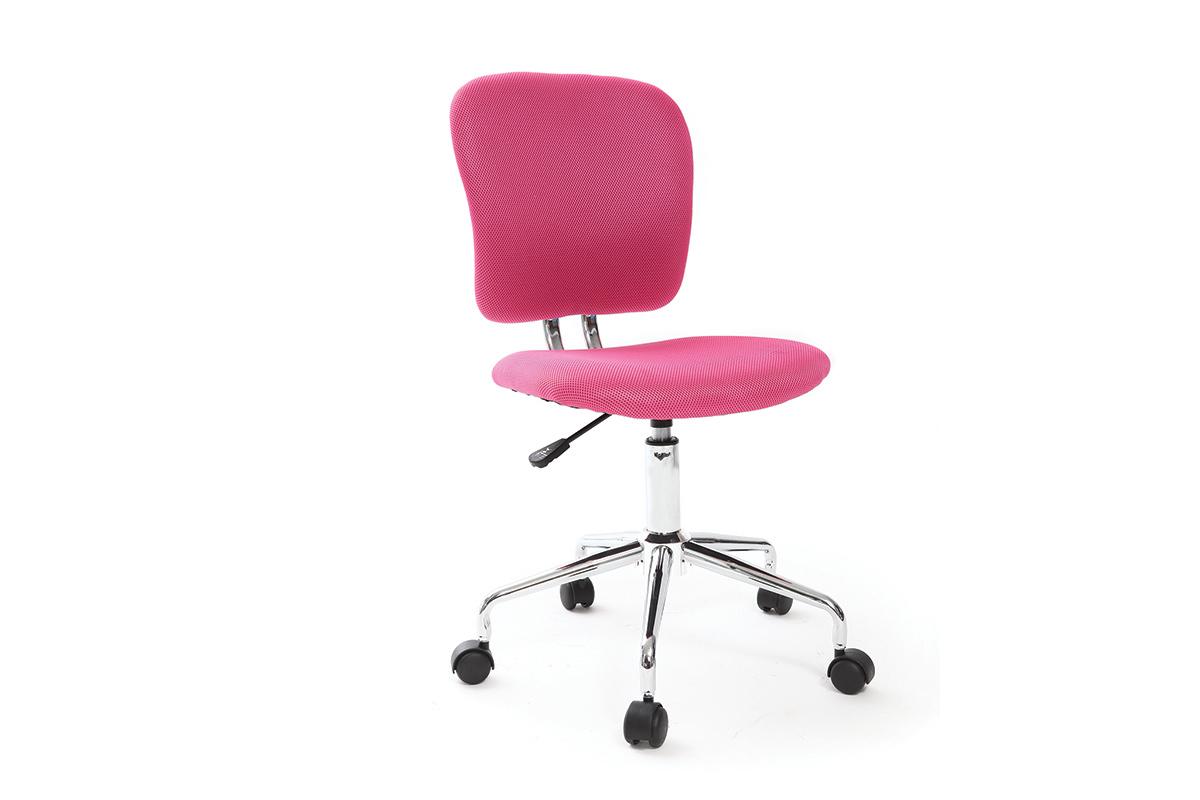 Sedia da ufficio per bambino rosa MAEL - Miliboo