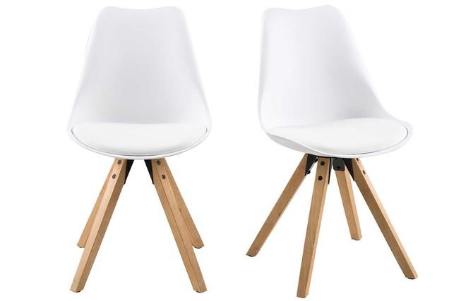 Emejing sedie bianche legno ideas for Sedia design bianca