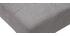 Sedia design imbottita tessuto grigio gruppo di 2 ESTER