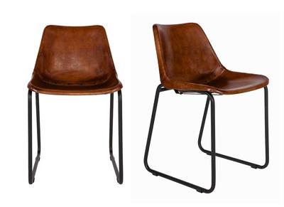 Sedie design accessibili scopra la sedia moderna for Sedia design marrone