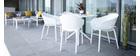 Sedie design nere interno / esterno (set di 4) OSKOL