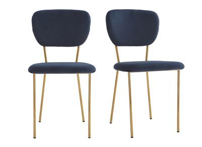 Saldi sedie moderne sedie di design in offerta miliboo for Sedie design velluto