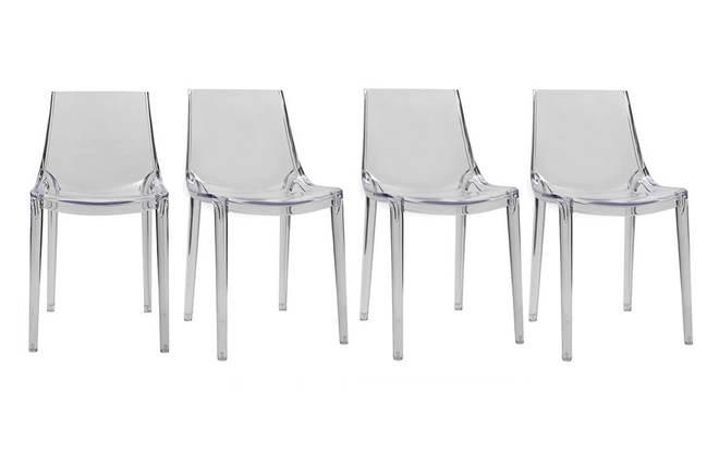 Sedie trasparenti design sedie trasparenti con braccioli for Sedie moderne trasparenti