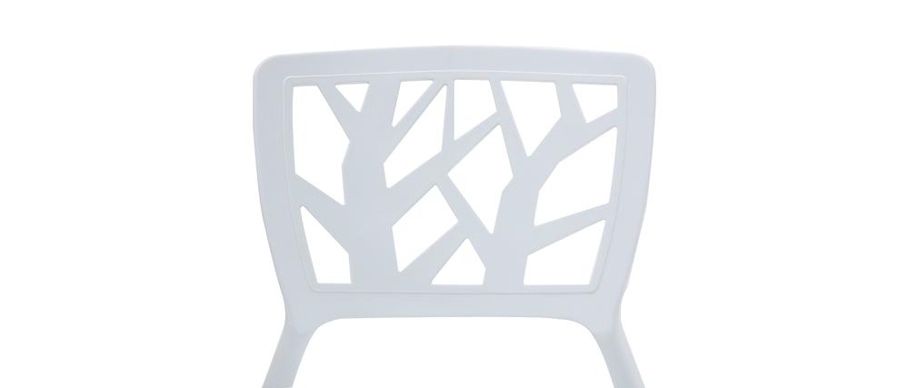 Set di 2 sedie design bianche KATIA