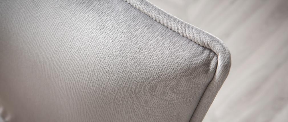 Set di 2 sedie design in velluto grigio SOLACE