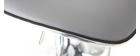 Set di 2 sgabelli da bar design grigio PEGASE