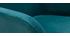 Set di 2 sgabelli in tessuto effetto velluto blu 65 cm AMIKA