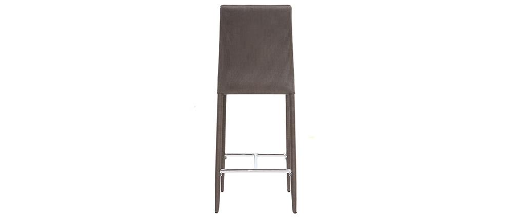 Set di 2 sgabelli / sedie da bar design beige / talpa TALOS