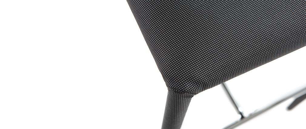 Set di 2 sgabelli / sedie da bar design grigio antracite TALOS