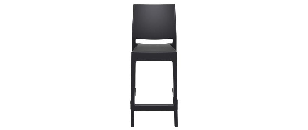 Sgabelli da bar di design impilabili 65 cm neri (set di 4) CALAO
