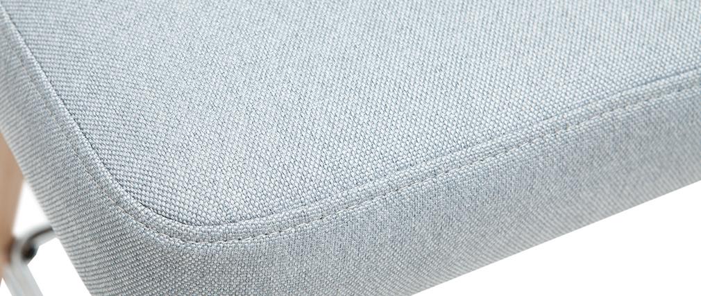 Sgabelli da bar scandinavi girevoli grigio chiaro H 65 cm (set di 2) HASTA