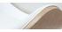 Sgabello da bar design bianco e legno chiaro WALNUT