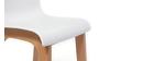 Sgabello da bar design legno e bianco 65cm gruppo di 2 NEW SURF