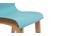 Sgabello da bar design legno e foglia di té 65cm gruppo di 2 NEW SURF