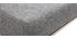 Sgabello da bar design metallo e tessuto grigio scuro 66cm gruppo di 2 HALEY