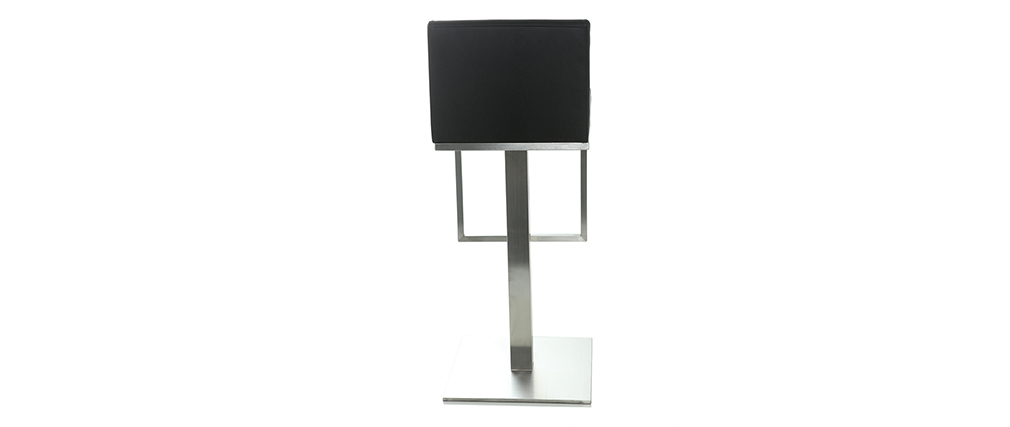 Sgabello da bar design nero OMEGA