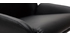 Sgabello da bar design PU nero gruppo di 2 ALEK