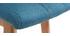 Sgabello da bar legno e foglia di té 65cm gruppo di 2 KLARIS