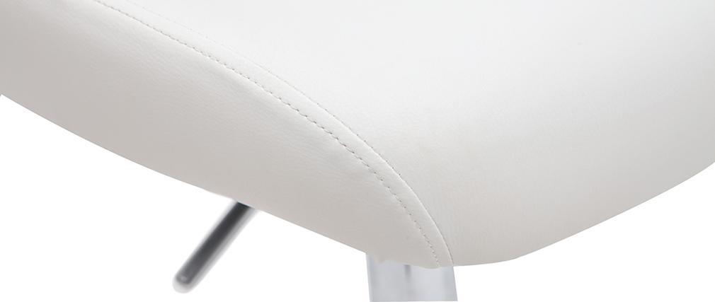 Sgabello da bar Nettuno - color bianco
