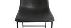 Sgabello da bar vintage PU nero 73cm gruppo di 2 NEW ROCK