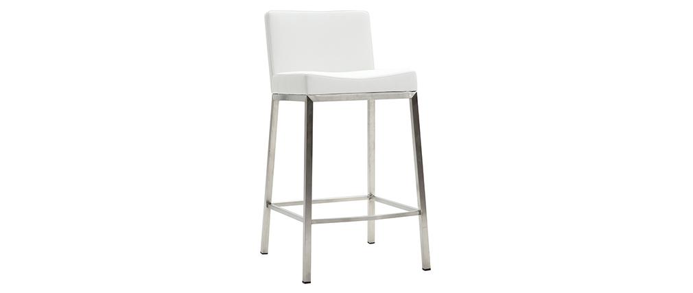 Sgabello design 66cm bianco - gruppo di 2 EPSILON