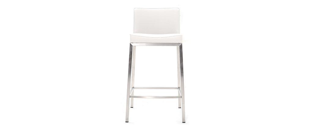 Sgabello design 66cm bianco - set di 2 EPSILON