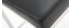 Sgabello design 66cm nero - gruppo di 2 EPSILON