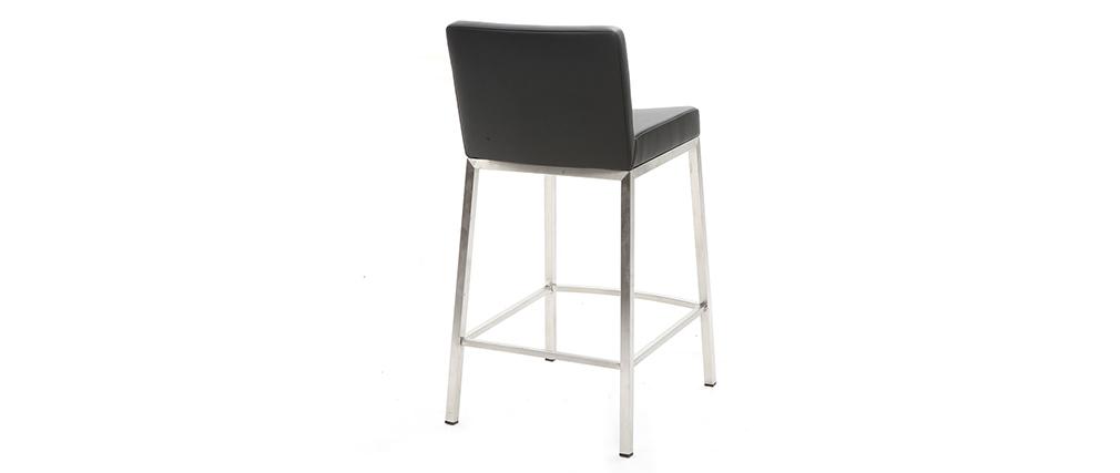Sgabello design 66cm nero - set di 2 EPSILON