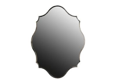 Specchio in ottone, argento, dimensioni: 70x94cm, modello: MAJORELLE