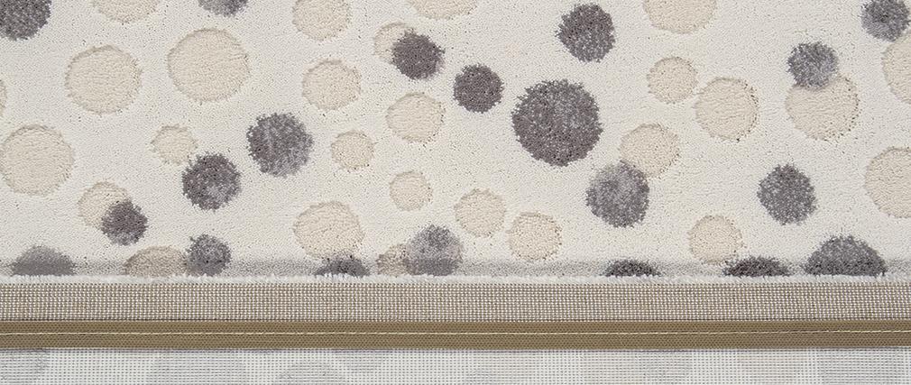 Tappeto avorio con motivi 200 x 300 cm BULLES