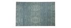 Tappeto blu grigio acrilico-cotone 155x230 SNAKE