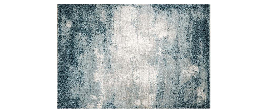 Tappeto blu moderno in polipropilene 160x230 cm CHLOE
