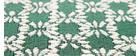 Tappeto color smeraldo misura 120x170 cm modello OASIS