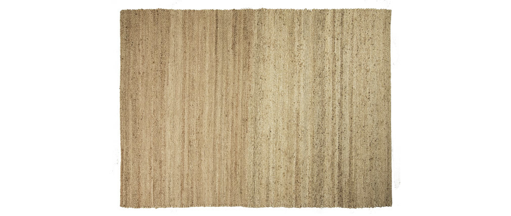 Tappeto di colore naturale in iuta misura 140x200 cm modello GUNNY