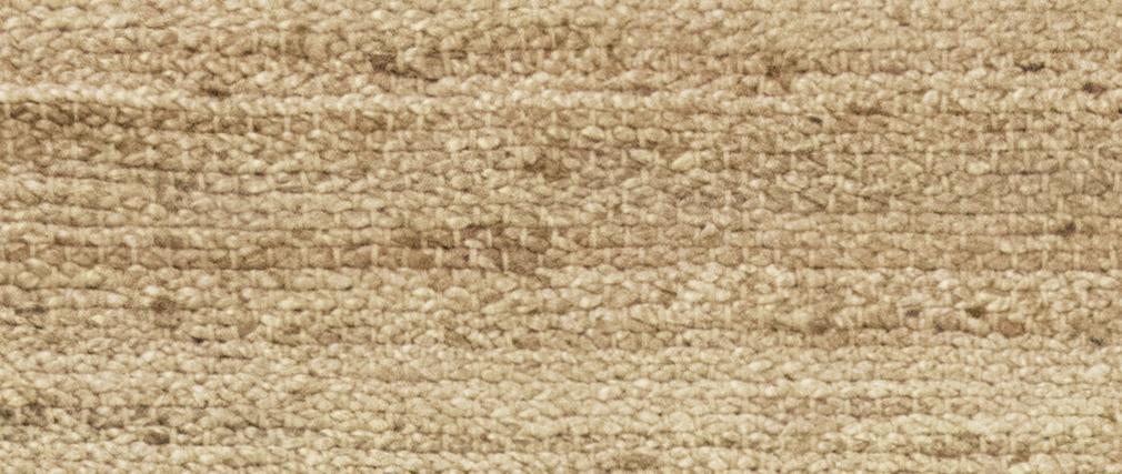 Tappeto di colore naturale in iuta misura 170x240 cm modello GUNNY